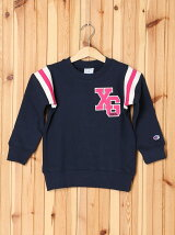 XGS★ × Champion  CREWNECK SWEAT