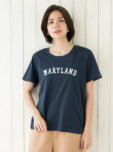MARY LANDプリントTシャツ