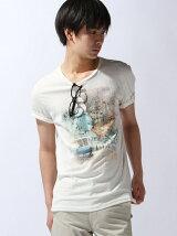 (M)クラフトフォト半袖Tシャツ・カットソーUDDW1