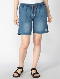 【SALE/50%OFF】AZ by junhashimoto (W)【AZ by junhashimoto 】Cut denim shorts テットオム パンツ/ジーンズ ショートパンツ ブルー