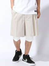 LAYERD BALOON SHORTS