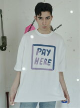 PAY HERE Tシャツ
