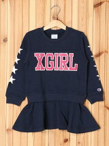 XGS★ × Champion SWEAT DRESS