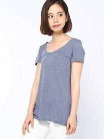 【SALE/40%OFF】(W)Original melange sn knit s/s トミーヒルフィガー カットソー【RBA_S】【RBA_E】