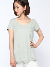 (W)Original melange sn knit s/s
