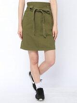 【WEGO】【BROWNY】(L)リボンタイトミニスカート