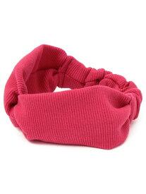 SHIPS KIDS SHIPSKIDS:リブヘアバンド シップス 帽子/ヘア小物 カチューシャ/ヘアバンド ピンク ホワイト ベージュ ブルー