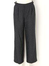 Nep Tweed Wide Pants