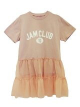 JAM CLUB chiffon peplum T-shirt