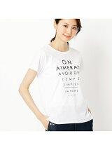 プリントロゴTシャツ