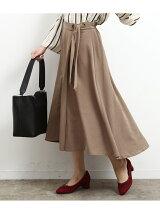 アイレット巻き風フレアースカート