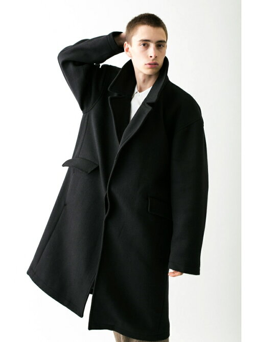 <monkey time> KRZ MELTON OVER COAT/オーバーコート