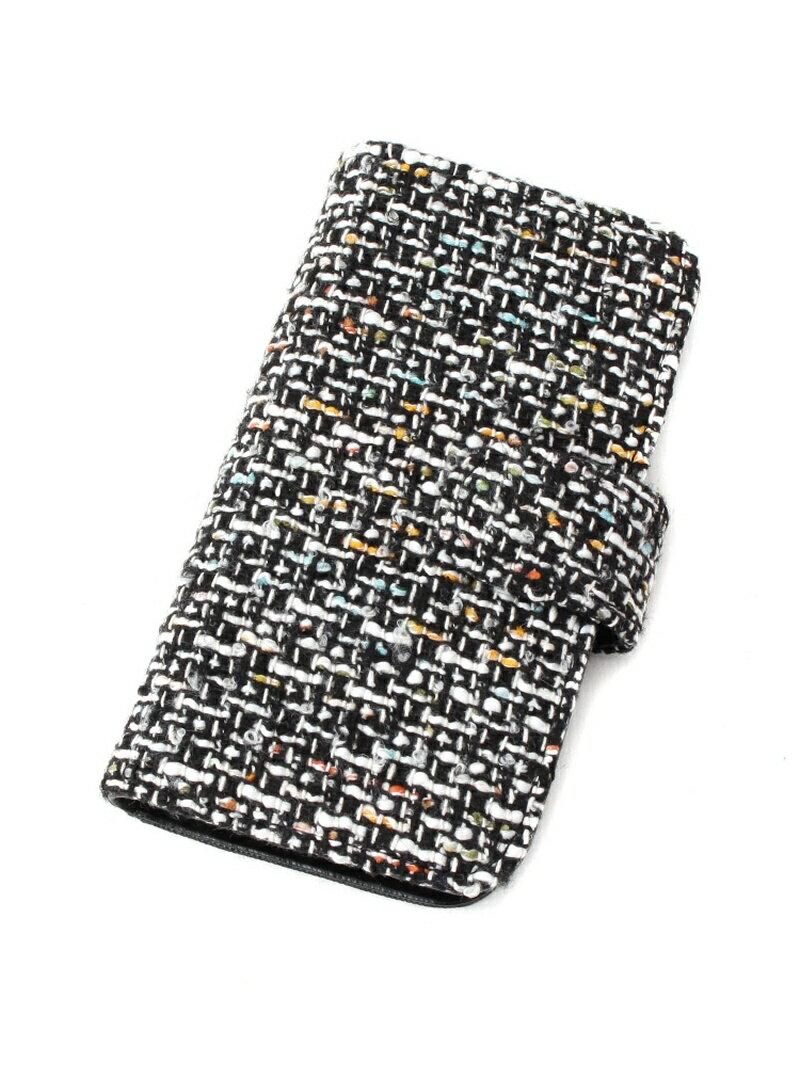 【SALE/50%OFF】passage mignon iPhone7/8対応 ツイードスマホケース パサージュ ミニョン / フラヌール ファッショングッズ【RBA_S】【RBA_E】