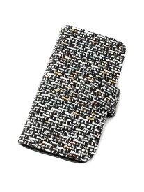 【SALE/50%OFF】passage mignon iPhone7/8対応ツイードスマホケース パサージュ ミニョン / フラヌール ファッショングッズ 携帯ケース/アクセサリー ブラック ブラウン ピンク