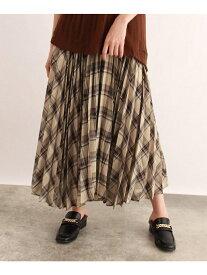 [洗える]ランダムプリーツフレアスカート オゾック スカート【送料無料】