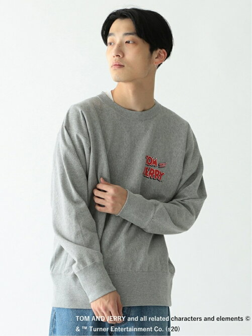 Champion × BEAMS / 別注 TOM & JERRY ロングスリーブ カットソー