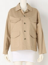 COTTON LINEN TWILL Jacket