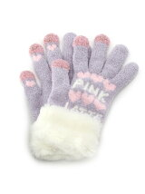 ファーシュークリーム手袋