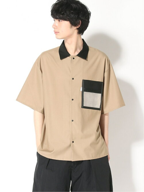 SUPERTHANKS MESH POCKET SHORT SLEEVE SH