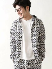 【NOMA textile design別注】イカットパーカー