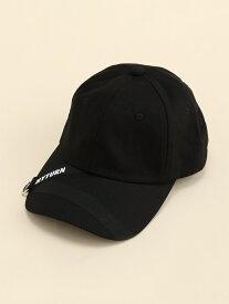 【SALE/49%OFF】WEGO (L)テープロゴキャップ ウィゴー 帽子/ヘア小物 キャップ ブラック ホワイト