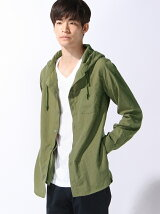 (M)フード付きシャツ