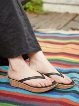(W)LINNY TOE-THONG SANDALS - LEATHER
