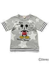レイヤード風Tシャツ(ミッキーマウス)