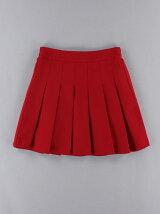 ビタミンカラープリーツスカート