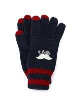 ヒゲニット手袋