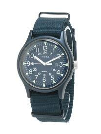 【SALE/20%OFF】TIMEX TIMEX/(U)MK1 アルミニウム ライフスタイルステーション ファッショングッズ 腕時計 ネイビー【送料無料】