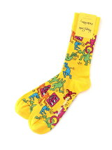 (W)【Happy Sock】Keith Hering