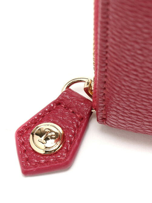 rienda/BASIC SHRINK CHARM ROUND WALLET