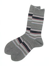 MENS MULTI BORDER SOCKS