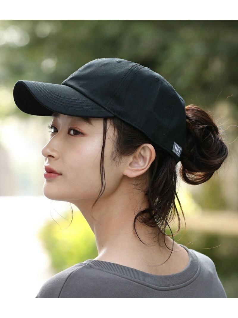 【MEI×ViS】コットンツイルローキャップ ビス 帽子/ヘア小物