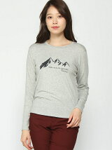 (W)W s Heather Wool Mountain L/S T