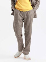 MOON TWEED ERASTIC 1TUCK PANTS