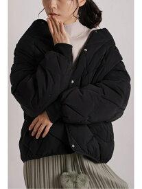 【SALE/20%OFF】Chiaro Chiaro/中綿ボアダイヤキルティングダウン アリエス コート/ジャケット ダウンジャケット ブラック ブラウン ブルー【送料無料】