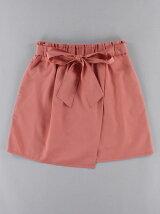 アシンメトリー台形スカート