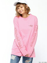 (L)別注ピンクパンサーロングTシャツ