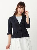 ladyショールカラーカットジャケット