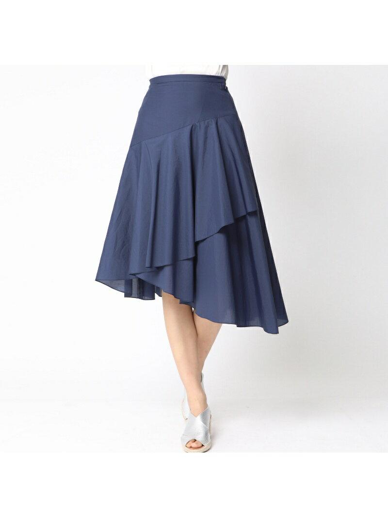 【SALE/60%OFF】QUEENS COURT ペーパーローンスカート クイーンズコート スカート【RBA_S】【RBA_E】【送料無料】