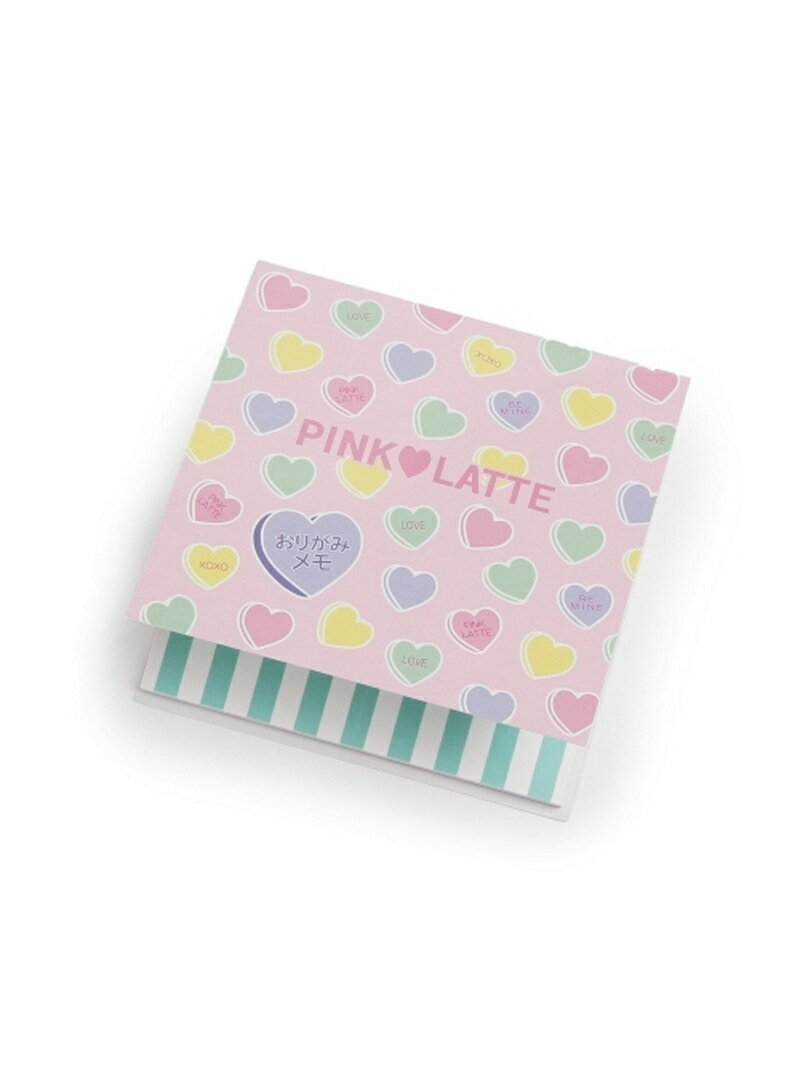 PINK-latte おりがみメモ ピンク ラテ 生活雑貨