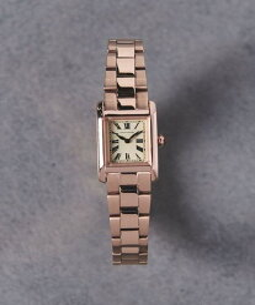 UNITED ARROWS UAB スクエア メタル 腕時計 ユナイテッドアローズ ファッショングッズ 腕時計 ピンク ゴールド シルバー【送料無料】