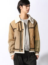 Re-make Corduroy Boa Jkt