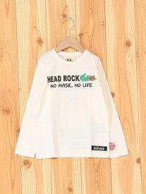 【SALE/62%OFF】HEADROCK headrock/(K)長袖Tシャツ 182004 ヘッドロック カットソー【RBA_S】【RBA_E】
