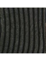 靴下屋/(W)シースルーストライプ柄ショートソックス