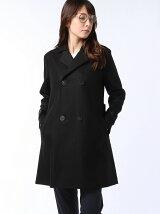 vintage melton pea coat