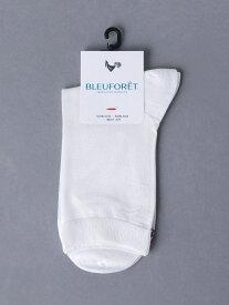 UNITED ARROWS <BLEU FORET(ブルーフォレ)>シルク ソックス ユナイテッドアローズ ファッショングッズ ソックス/靴下 ホワイト ブラック グレー