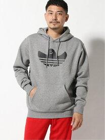 【SALE/44%OFF】adidas Originals 【アディダススケートボーディング】シュムーフォイル ロゴパーカー アディダス カットソー パーカー グレー【送料無料】